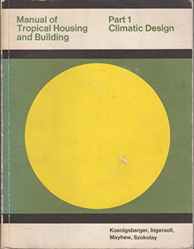 Manual Of Tropical Housing And Building Pdf