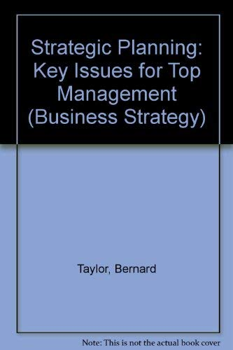 A handbook of strategic planning (Business strategy & planning): University of Bradford; ...