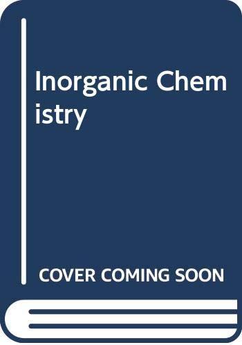 9780582446892: Inorganic Chemistry