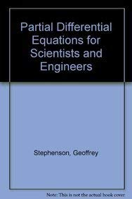 9780582446960: Partial Differential Equations for Scientists and Engineers