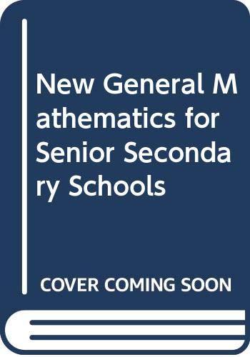 9780582447684: New General Mathematics for Senior Secondary Schools: Student's Book (Book 2)