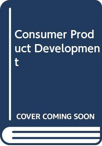 9780582450493: Consumer Product Development