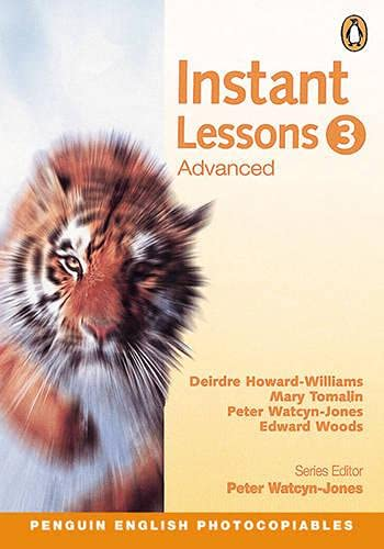 9780582451452: Instant Lessons: Advanced 3 (Penguin English photocopiables)