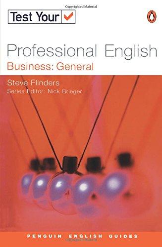 9780582451483: Test Your Professional English: Elementary (Penguin English)