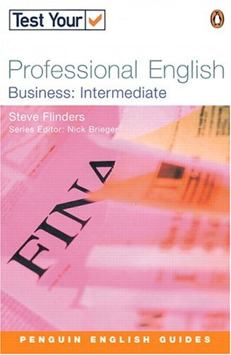 9780582451490: Test Your Professional English - Business Intermediate