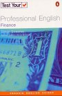 9780582451605: Test Your Professional English: Finance (Penguin Joint Venture Readers)
