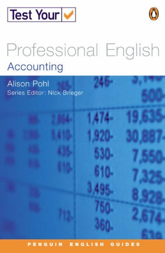 9780582451636: Test Your Professional English NE Accounting (Penguin English)