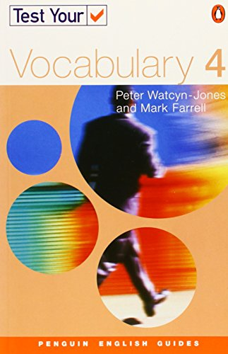 9780582451698: Test Your Vocabulary 4 NE (Penguin English)