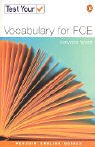 9780582451759: Test Your Vocabulary for FCE (Penguin English)