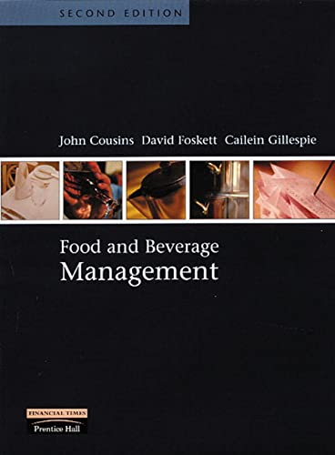 9780582452718: Food and Beverage Management