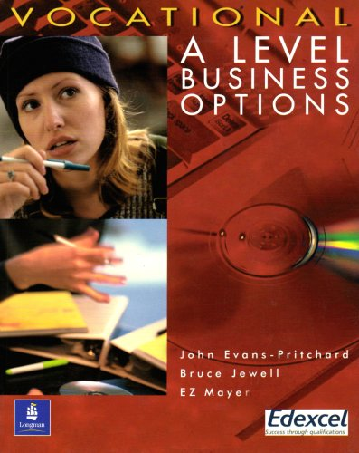 9780582453081: Vocational A Level Business Options Paper