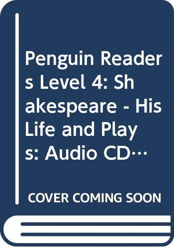 9780582456280: Penguin Readers Level 4: Shakespeare - His Life and Plays: Audio CD (Penguin Readers (Graded Readers))