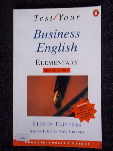 9780582461123: Test Your Business English: Elementary (Special Edition) (General Adult Literature)