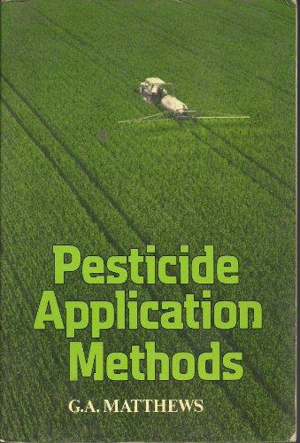 9780582463516: Pesticide Application Methods