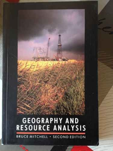9780582463646: Geography and Resource Analysis
