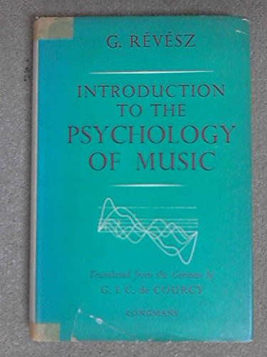 9780582465206: Introduction to Psychology of Music