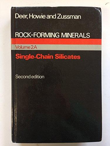 9780582465220: Rock Forming Minerals: v. 2A