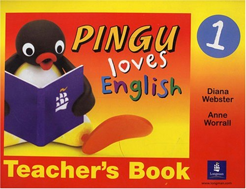 9780582465596: Pingu Loves English: Level 1 Teacher's Book