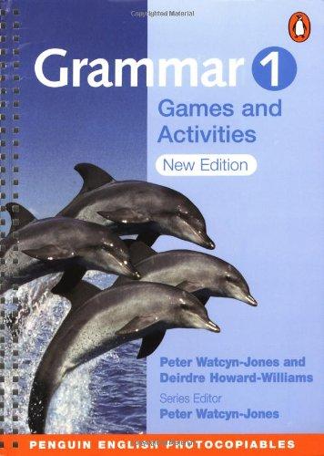 9780582465633: Grammar Games and Activities 1