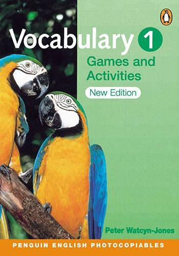 9780582465664: Vocabulary Games & Activities 1