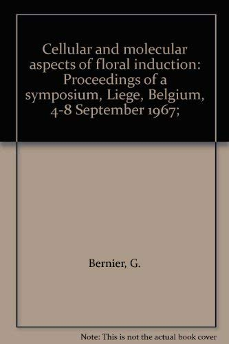 9780582466081: Cellular and Molecular Aspects of Floral Induction