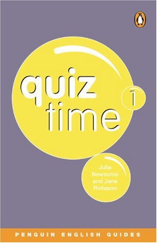 9780582468795: Quiz Time: Penguin Reader Level 3 1 (Penguin English guides)