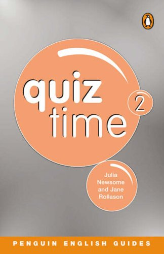 9780582468801: Quiz Time: Penguin Reader Level 4 2 (Penguin English guides)