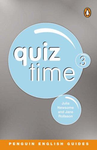 9780582468818: Quiz Time: 3: Penguin Reader Level 5
