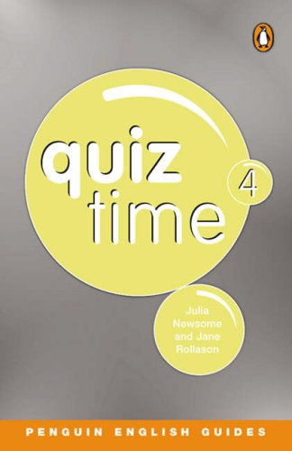 9780582468825: Quiz Time: Penguin Reader Level 6 4 (Penguin English)