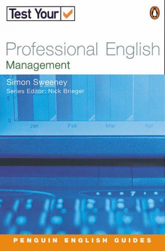 9780582468979: Test Your Professional English: Management (Penguin Joint Venture Readers)