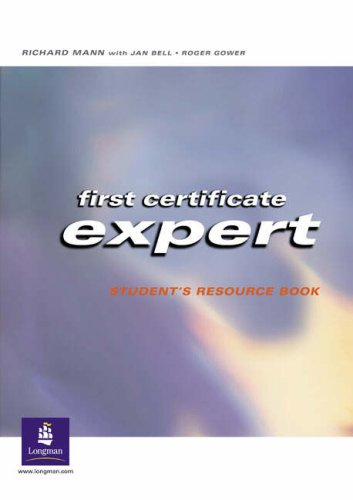 9780582469280: First Certificate Leader: Workbook (First certificate expert)