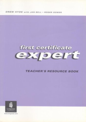 9780582469297: First Certificate Expert. Teacher's Resource Book