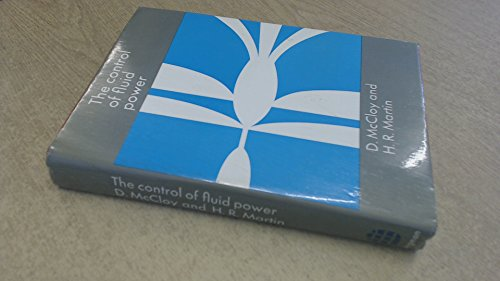 9780582470033: Control of Fluid Power