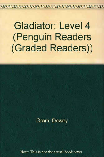 9780582471191: Gladiator Book & Cassette (Penguin Readers (Graded Readers))