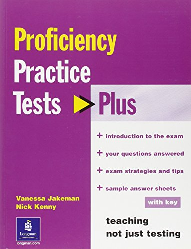 9780582471665: Practice Tests Plus CPE with Key