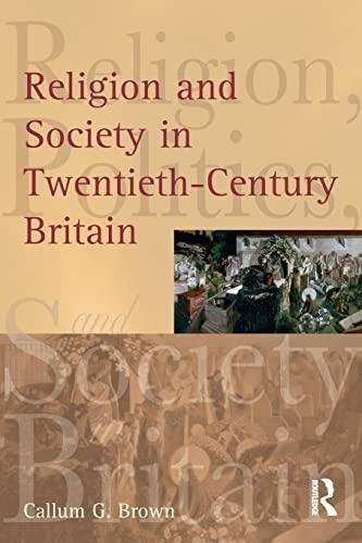 9780582472891: Religion and Society in Twentieth-Century Britain