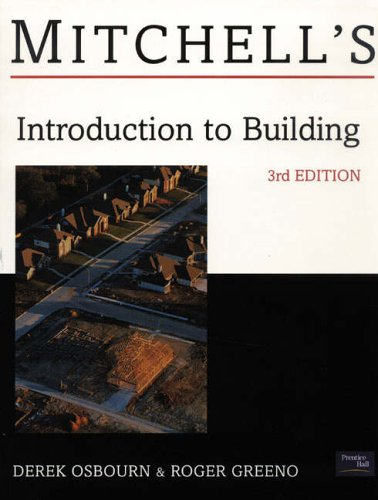 9780582473034: Mitchell's Introduction to Building (Mitchells Building Series)