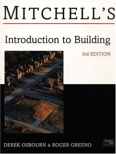 9780582473034: Introduction to Building (Mitchell's Building Series)