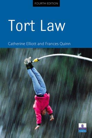 9780582473317: Tort Law