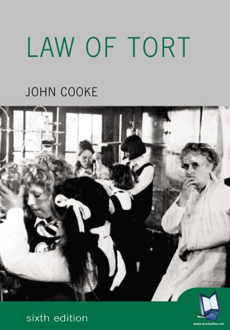 9780582473485: Law of Tort (Foundation Studies in Law Series)