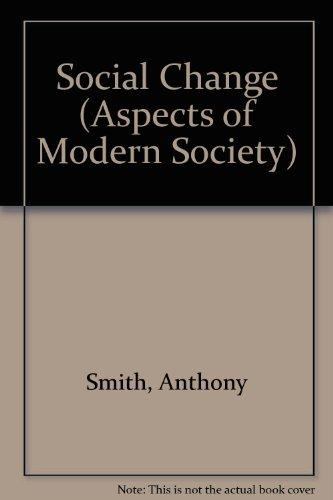 9780582480100: Social Change (Aspects of Modern Society)