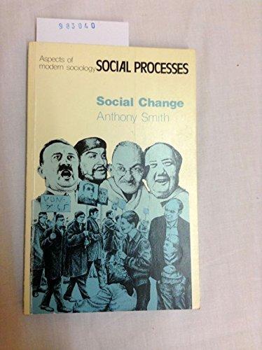 9780582480117: Social Change (Aspects of Modern Society)