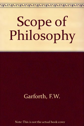 9780582480186: Scope of Philosophy