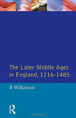 9780582480322: The Later Middle Ages in England 1216 - 1485 (A History of England)
