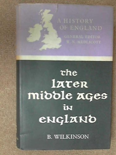 9780582482654: Later Middle Ages in England, 1216-1485 (HOE)