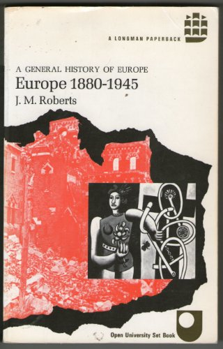 9780582483101: Europe, 1880-1945
