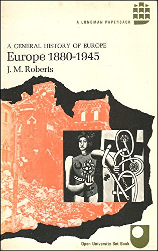 9780582483101: Europe, 1880-1945 (General History of Europe)