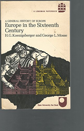 9780582483453: Europe in the Sixteenth Century (General History of Europe)