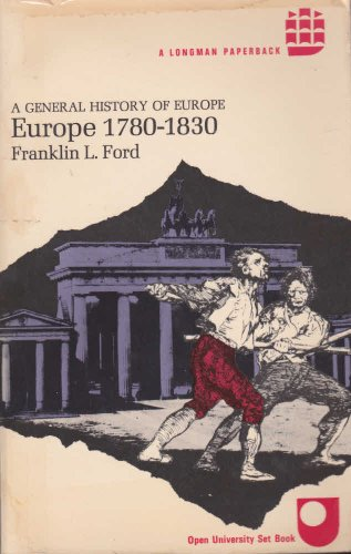 9780582483460: Europe 1780 to 1830 (General History of Europe)