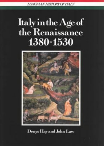 9780582483583: Italy in the Age of the Renaissance (Longman History of Italy)
